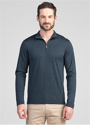 Untouched World Pua Zip Shirt -mens-Sparrows