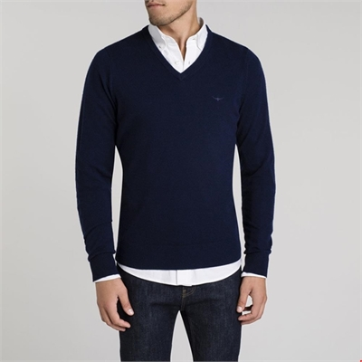 R.M Williams Harris Sweater-mens-Sparrows